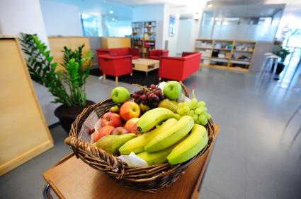 Pourquoi se faire livrer des fruits au bureau?