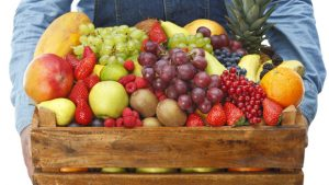 Livraison de fruits au bureau